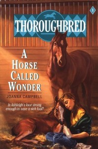 Book Cover of A Horse Called Wonder by Joanna Campbell