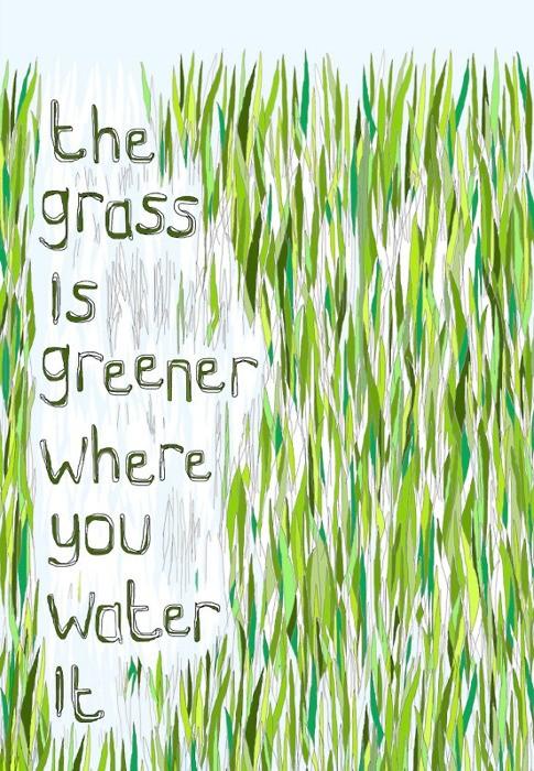 Greener Grass Blogspiration Image