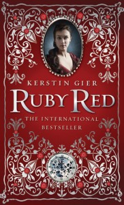 Book cover of Ruby Red by Kerstin Gier