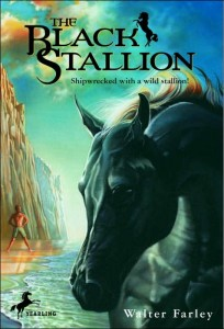 Book Cover of The Black Stallion by Walter Farley
