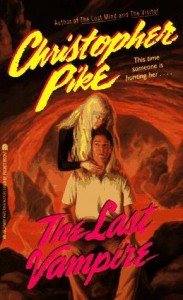 Book Cover of The Last Vampire by Christopher Pike
